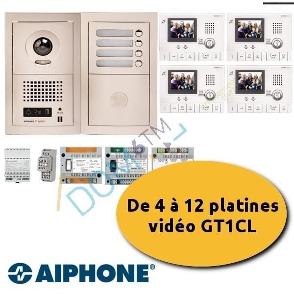 kit collectif aiphone gtv6e 200315 achat vente interphone visiophone cdiscount. Black Bedroom Furniture Sets. Home Design Ideas