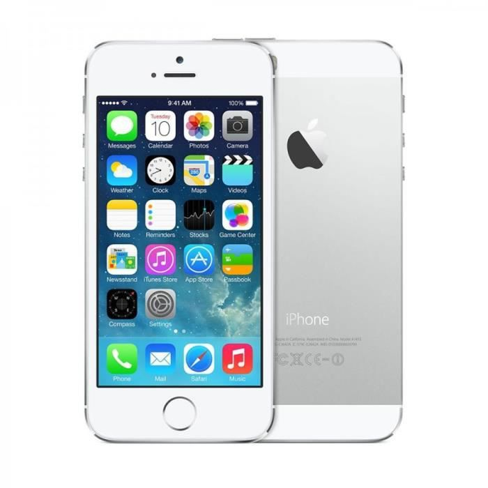 Iphone 5s Reconditionne Apple Sans Forfait
