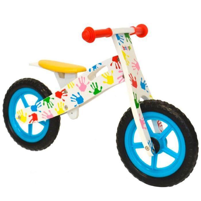 DRAISIENNE Vélo en bois boppi® pour développer l'équilibre de