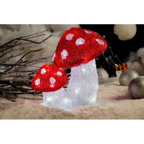 Superbe illumination de no l champignon dou achat - Video illumination de noel exterieur ...