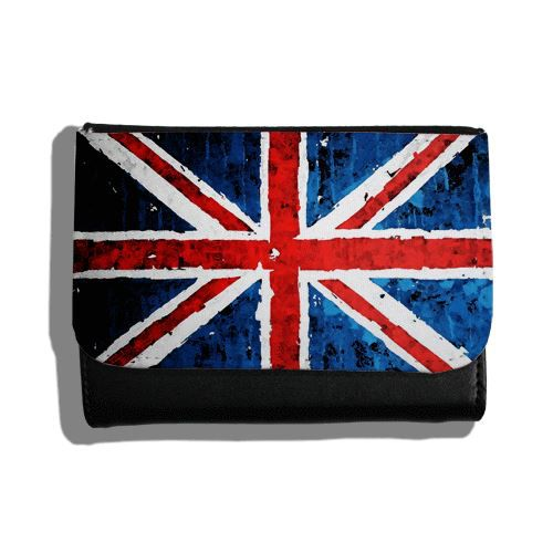 Porte feuille drapeau anglais rock noir transparent for Porte and anglais