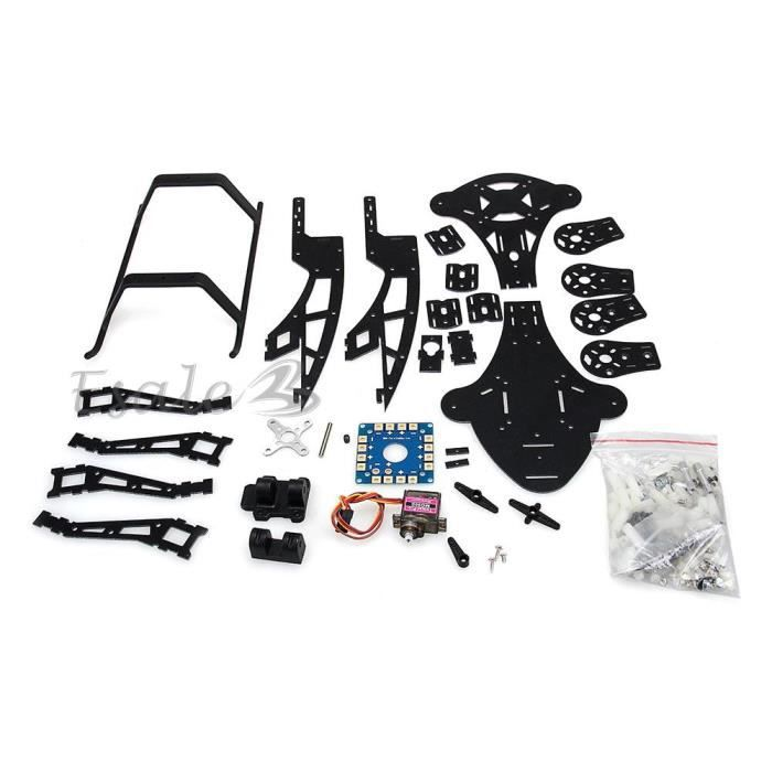 hj y3 kit cadre plaque fibre de verre pour tricopter rc h licopt re 3 axes achat vente pi ce. Black Bedroom Furniture Sets. Home Design Ideas