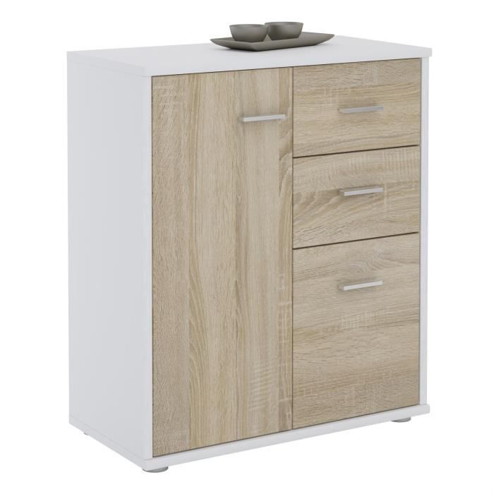 commode largeur 60 cm achat vente commode largeur 60 cm pas cher cdiscount. Black Bedroom Furniture Sets. Home Design Ideas