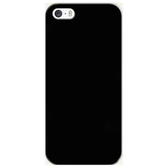 Coque iphone 5/5S noir - Cdiscount Téléphonie