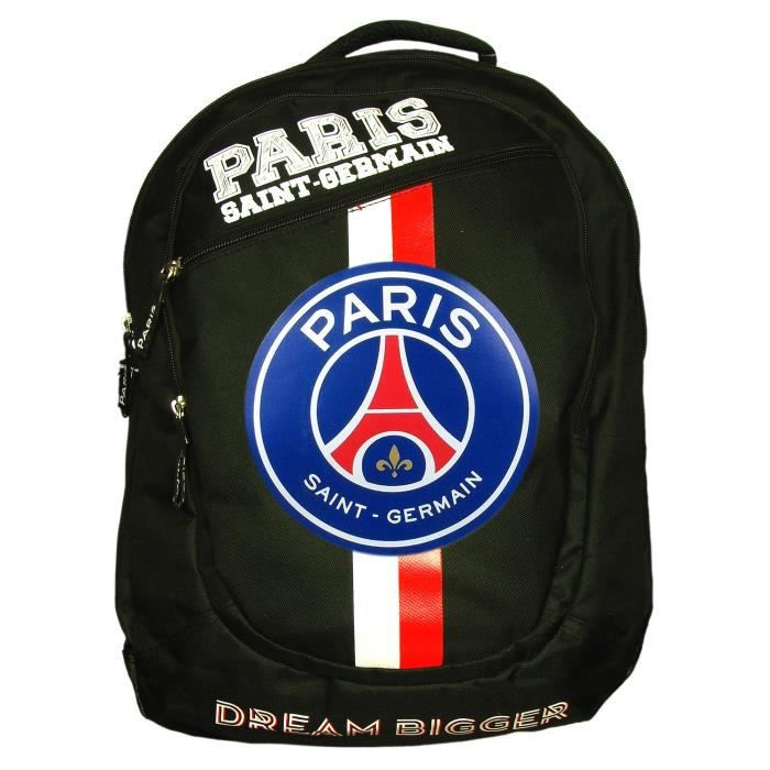 psg sac dos paris saint germain officiel noir noir noir achat vente sac dos. Black Bedroom Furniture Sets. Home Design Ideas