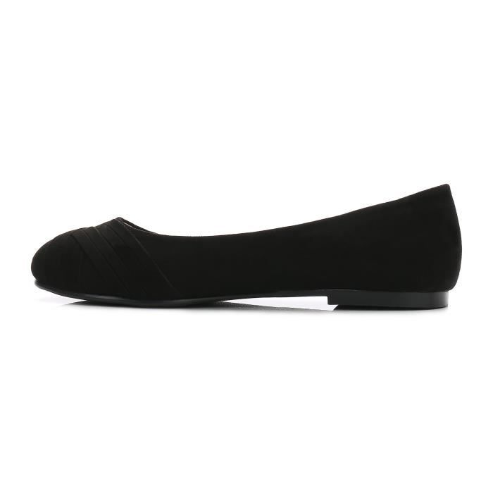Femmes Chaussures Classic Slip On Comfy Ballerines P9EUD Taille-39