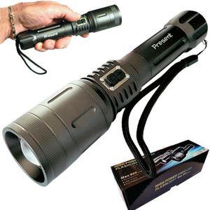 LAMPE DE POCHE Lampe torche rechargeable, ultra puissante d'une p