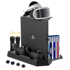 SUPPORT CONSOLE IEGEEK Station de Recharge 2 PS Move VR Controller