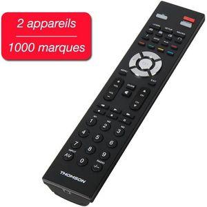 TÉLÉCOMMANDE TV THOMSON ROC 2411 Télécommande universelle 2 appare