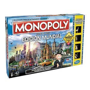 JEU SOCIÉTÉ - PLATEAU Monopoly World Edition - 115517