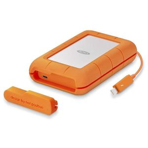 DISQUE DUR EXTERNE LaCie Rugged Thunderbolt USB-C 4To, disque dur ext