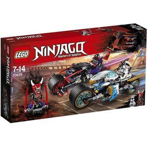 ASSEMBLAGE CONSTRUCTION LEGO® NINJAGO® 70639 La Course de rues en motos  -
