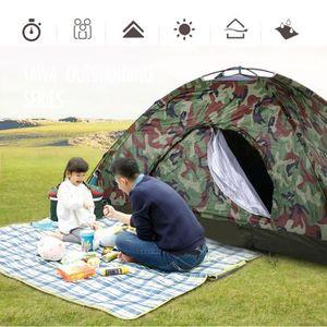 TENTE DE CAMPING Wigwam de tente de chasse imperméable de camouflag