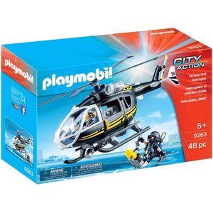 UNIVERS MINIATURE PLAYMOBIL 9363 - City Action - Hélicoptère et poli