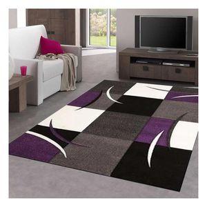 TAPIS Tapis DIAMOND COMMA violet Tapis Moderne 200 x 290