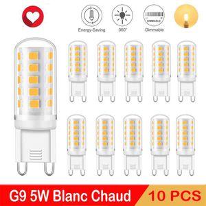AMPOULE - LED Eofiti 5W Ampoules G9 LED Dimmable Blanc Chaud Éqv