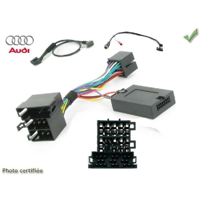 Interface Cde au volant Audi A2/A3/A4/A6/A8/TT Alpine - ADNAuto - ADN-CAVAU01AL