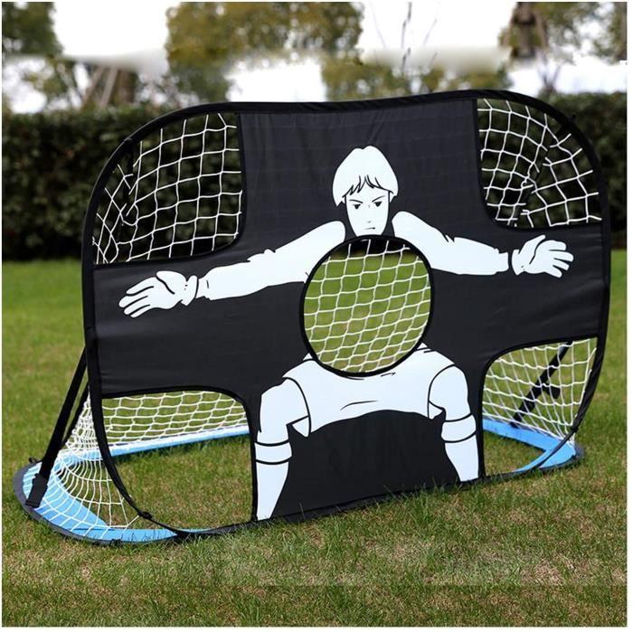 Cages et Mini buts HUA Jardin Extérieur 2 en 1 But De Football Pop-up, But De Football Portable Pliable pour Enfants, Installatio324