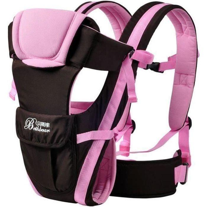 KH Nouveau-né Porte bébé réglable Sling Wrap Baby Carrier sac à dos G128