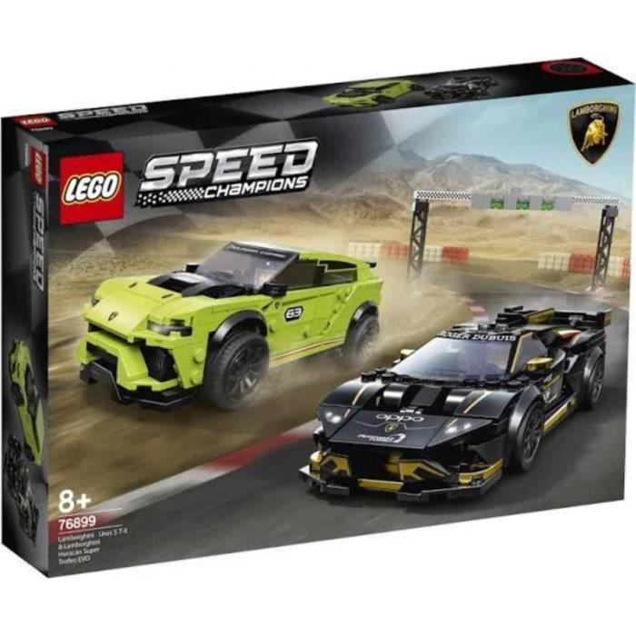 LEGO 76899 Speed Champions - Lamborghini Urus ST-X & Lamborghini Huracán Super Trofeo EVO
