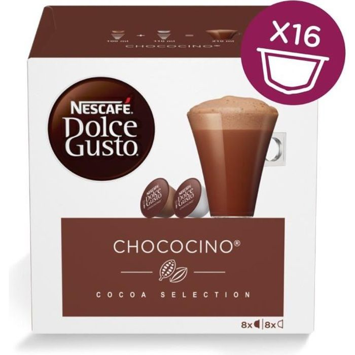 NESCAFE Dolce Gusto Chococino Café 8 cups - 6x 256 g