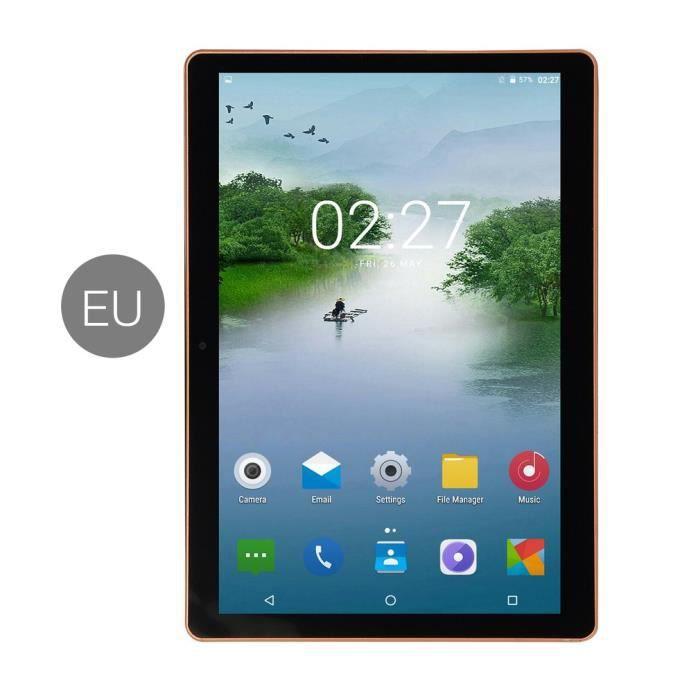 11 pouces Écran IPS Android 8.0 Dix cœurs Tablette PC 1+8G Double carte SIM