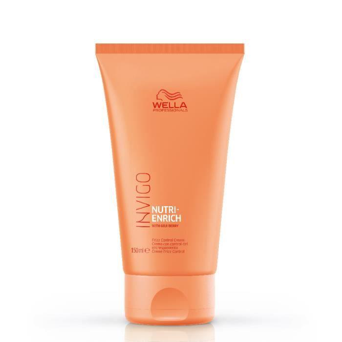 Wella, Crème de lissage Nutri Enrich Invigo 150ml, Crème Soin sans rinçage Hydratant Cheveux Secs et déshydratés,