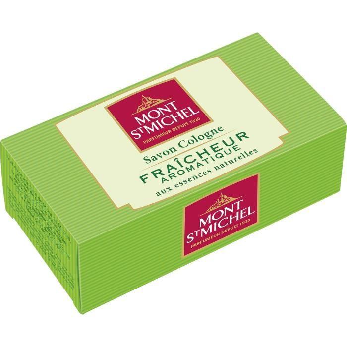 MONT ST MICHEL Savon Cologne Solide - Fraîcheur aromatique - 125 g