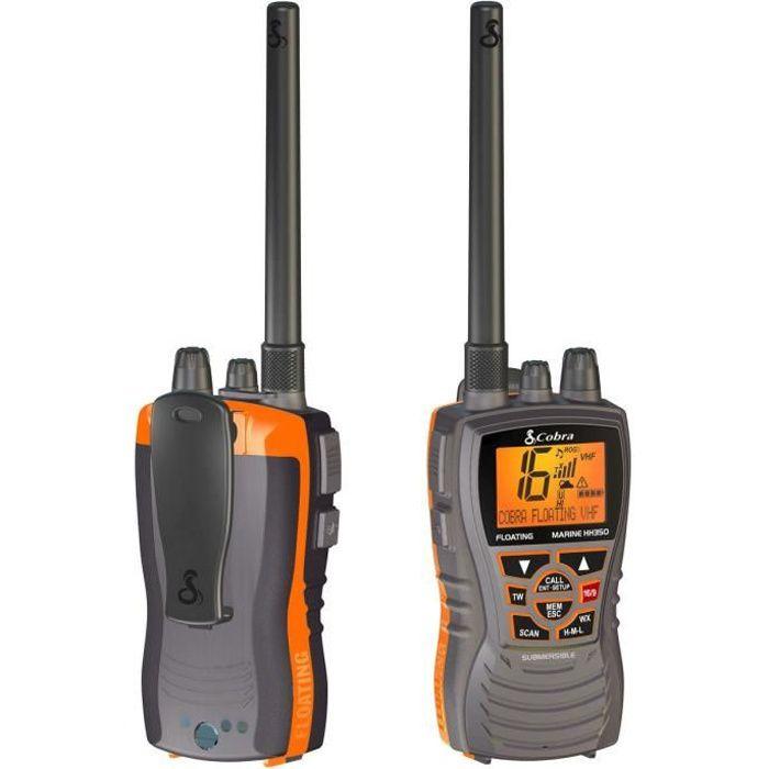 Photo de cobra-radio-vhf-marine-portable-mr-hh-350