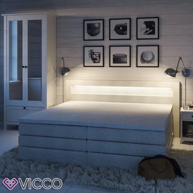 LIT COMPLET Lit boxspring design avec lit double lit double bl