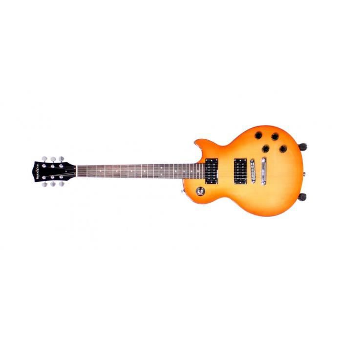 guitare lectrique de type lp honey sunburst pas cher. Black Bedroom Furniture Sets. Home Design Ideas