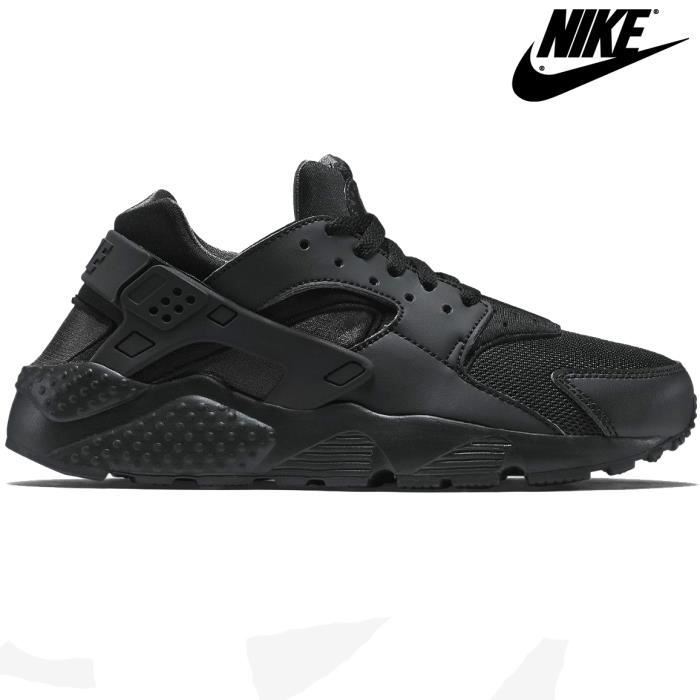 nike air huarache triple black femme noir noir achat vente basket cdiscount. Black Bedroom Furniture Sets. Home Design Ideas