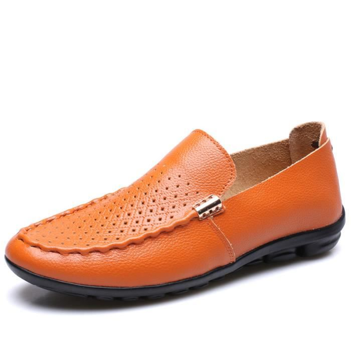 Mocassins Cuir Homme