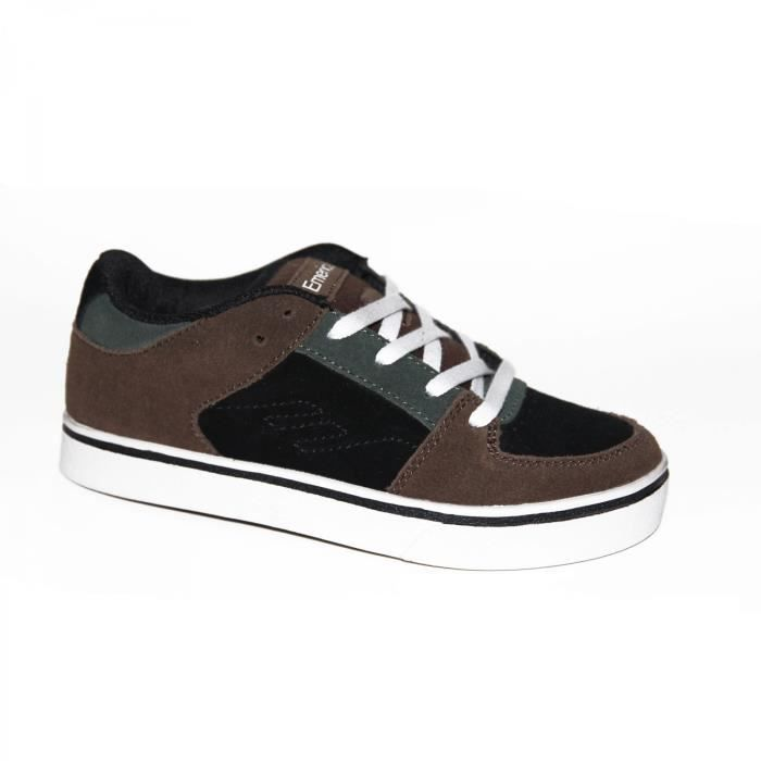 samples shoes EMERICA THE MOB BROWN BLACK GREY KIDS / ENFANT XCkzs