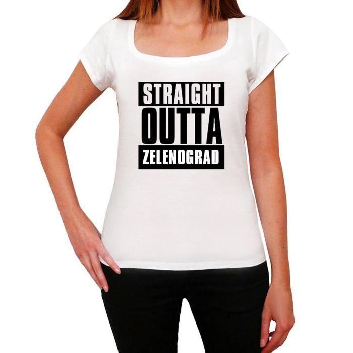 T-SHIRT Straight Outta Zelenograd Tshirt Femme Tshirt