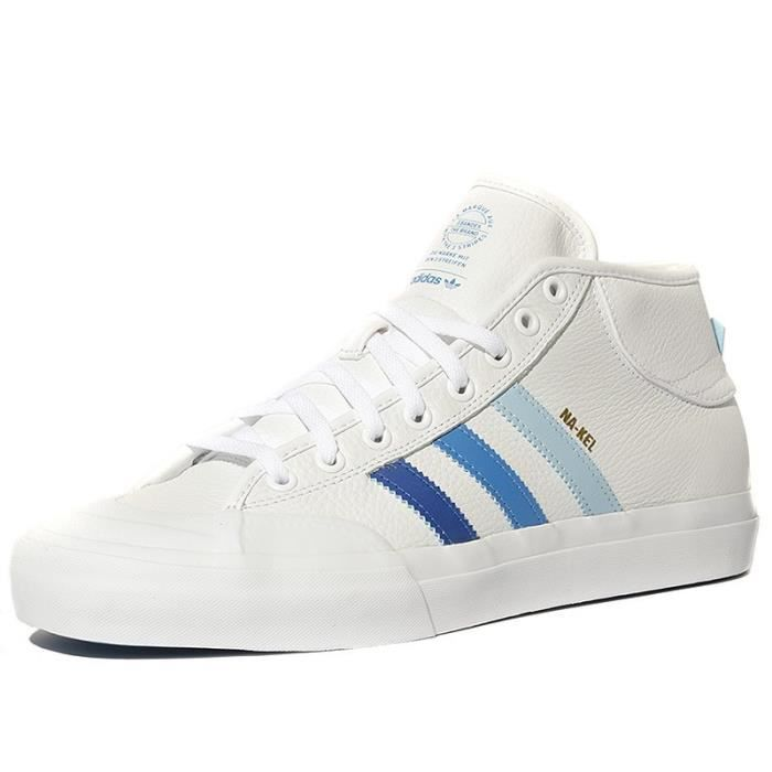 adidas chaussures montante homme blanches