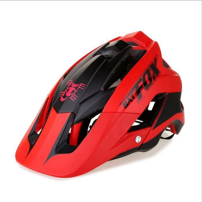 Casque de Vélo Helmet 56-63cm Jaune Noir Avec Visière pour Route Cyclisme Adulte