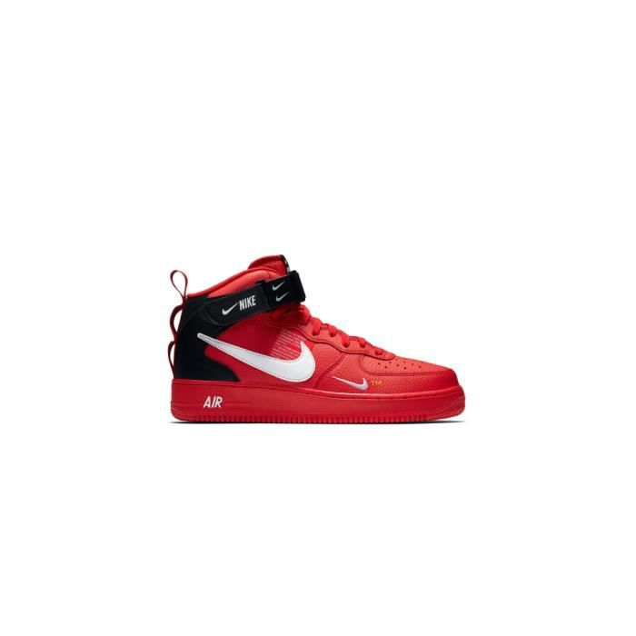 nike air force 1 mid 07 rouge