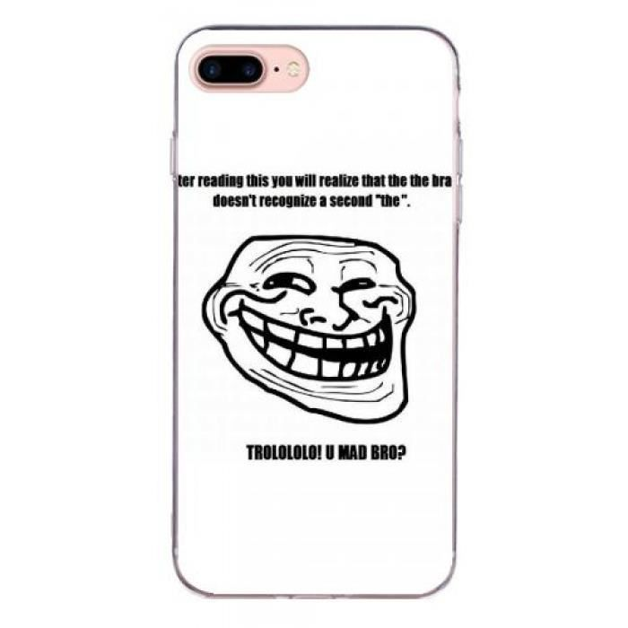 coque iphone 7 plus drole