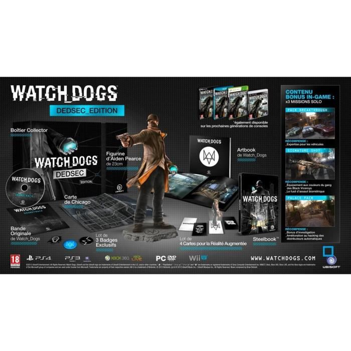JEUX XBOX ONE Watch Dogs - Édition Dedsec Jeu XBOX One