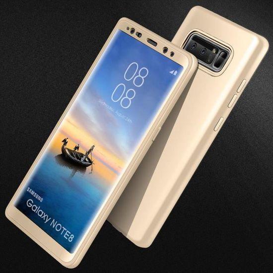 Bleu DENDICO Coque Galaxy Note 8 Briller Portefeuille de Protection en Cuir Flip Etui pour Samsung Galaxy Note 8 Housse de Anti Choc avec Stand Magn/étique Fonction
