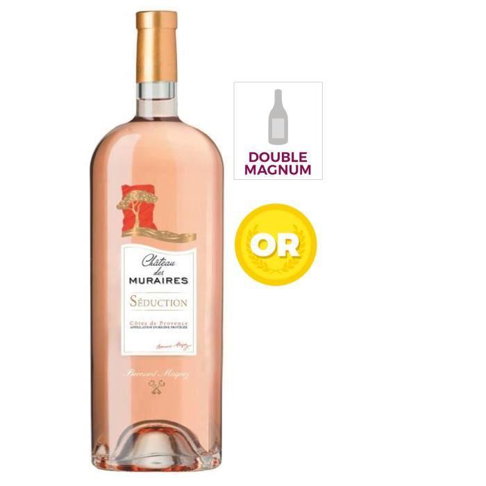 Magnum Bernard Magrez Château des Muraires 2016 Côtes de Provence - Vin rosé de Provence