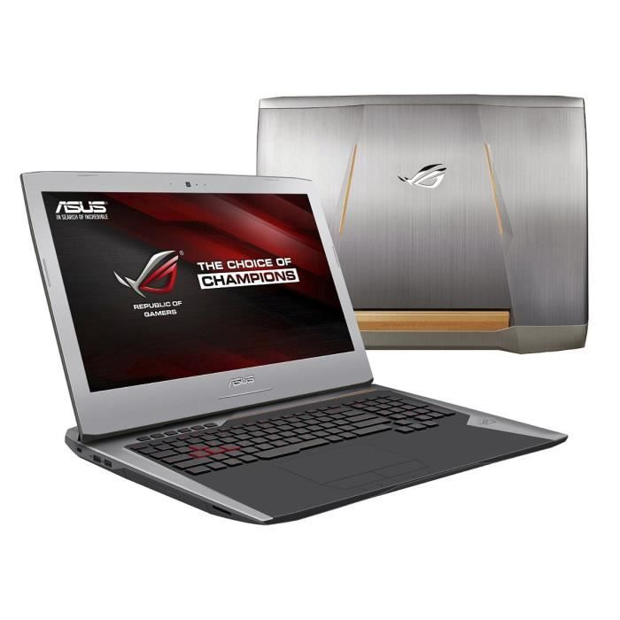 "ORDINATEUR PORTABLE ASUS ROG PC GAMER G752VY-GC063T 17.3"" Full HD - 8G"