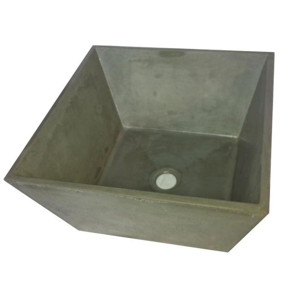 Béton Haute Performance Recette vasque à poser en béton ductal® - achat / vente lavabo