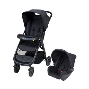 POUSSETTE  SAFETY 1ST Poussette Combinée Duo Amble - Full Bla