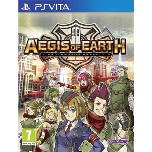 JEU PS VITA Aegis of Earth : Protovonus Assault Jeu PS Vita