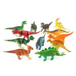 12pc plastique dinosaures Figurines Grand Dinosaure Jouets Set T-Rex TRICERATOPS /& etc