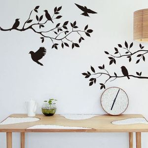 stickers muraux arbre achat vente pas cher. Black Bedroom Furniture Sets. Home Design Ideas