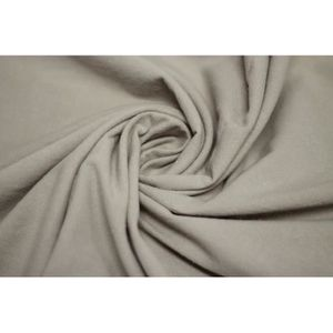 TISSU Tissu Coton Epais Uni Beige -Au Mètre