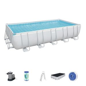 PISCINE Piscine Tubulaire Amovible Bestway Power Steel 671